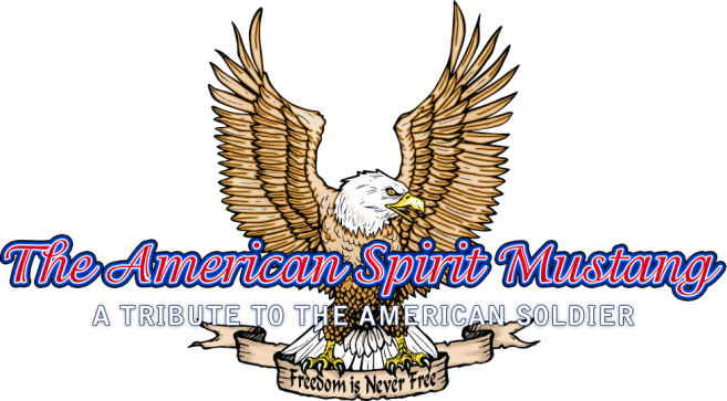 The American Spirit Mustang logo