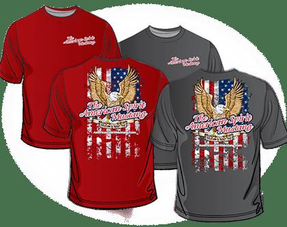 American Spirit Mustang T-Shirts