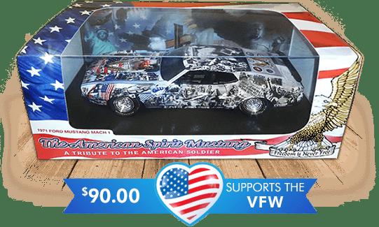 American Spirit Mustang Die Cast Replica